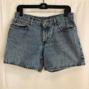 Vintage 90s Polo Ralph Lauren Jean Shorts Size 8